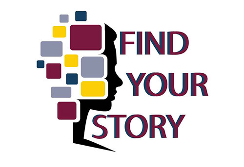 Fall Symposium Logo - Find Your Story